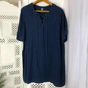 Old Navy Plus Size Chambray Dress XXL